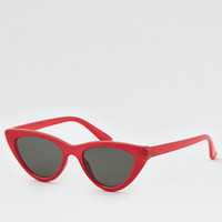 Red Cat Eye Sunglasses, Red