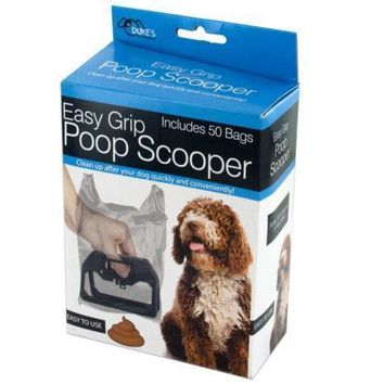 Quick Easy Grip Poop Scooper With Bags Set of 18 Pack