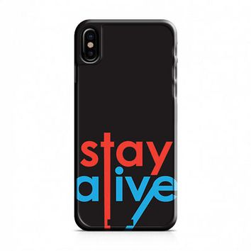Twenty One Pilots Stay Alive iPhone X Case