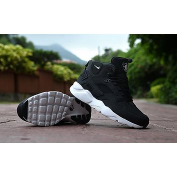 Air Huarache Run Ultra High Black/White Sneaker Shoes