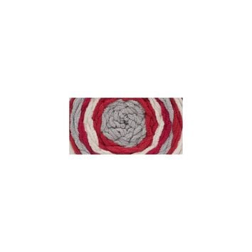 Bernat Blanket Stripes Yarn Red Alert 300 Gram Skeins