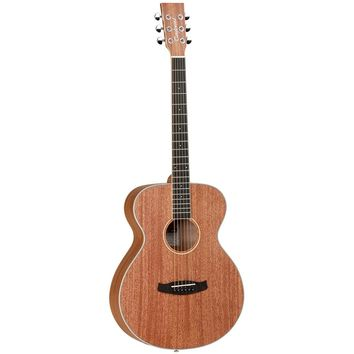 Tanglewood Union Solid Mahogany Top Acoustic Electric Folk Guitar