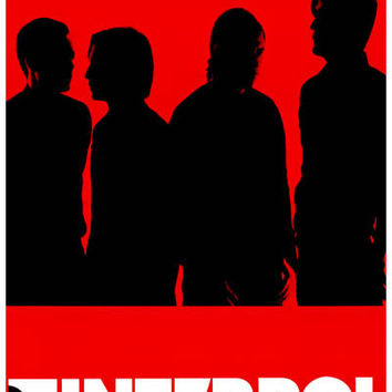 Interpol Red Band Portrait Poster 11x17