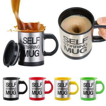 Automatic Self Stirring Mug for Travel Office Home