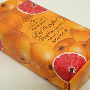 Castelbel Porto Pink Grapefruit Luxury Bath Bar 10.5 Oz Gift Wrapped