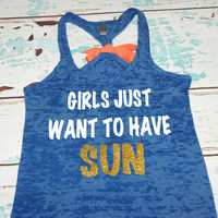 Girls Just Want To Have SUN. White and Gold by strongconfidentYOU