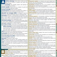 Business Terminology Laminated Reference Guide