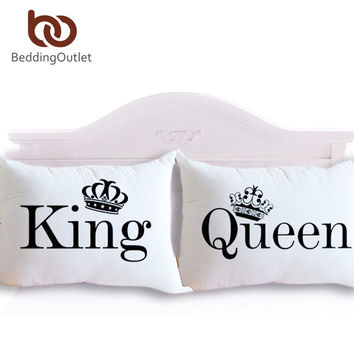 Queen King Pillowcase Decorative Body Pillow Case