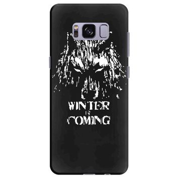 game of thrones direwolf winter is coming Samsung Galaxy S8 Plus