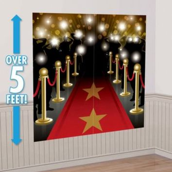 Hollywood Movie Premiere Scene Setter 2pc | Party City