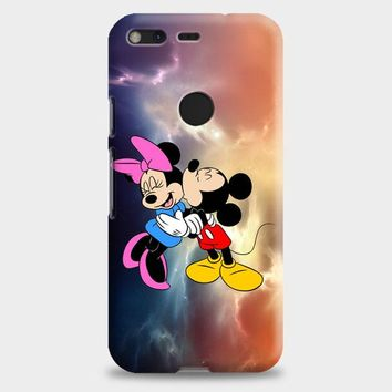 Mickey Mouse And Minnie Mouse Cute Couple Cartoon Google Pixel XL 2 Case | casescraft