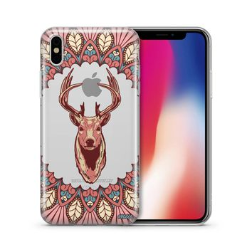 Beauteous Deer - Clear TPU Case Cover