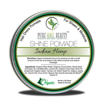 Indian HempHair Oil Pomade