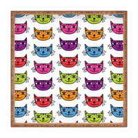 Andi Bird Cat Love Square Tray