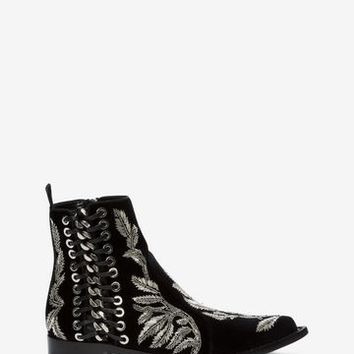 Braided Chain Ankle Boot | Alexander McQueen