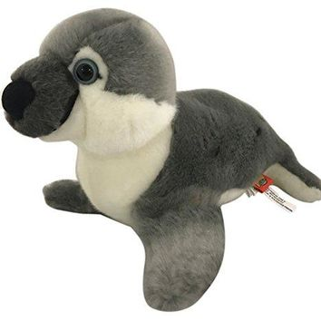 "Wildlife Tree 9"" Stuffed Arctic Seal Plush Floppy Animal Heirloom Collection"