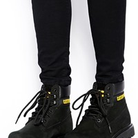 Caterpillar Colorado Black Ankle Boots