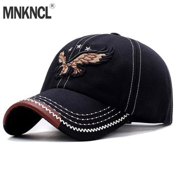 Trendy Winter Jacket High Quality brand cap for men and women Gorras Snapback Caps Eagle Embroidery Baseball Caps Casquette hat Sports Outdoors Cap AT_92_12