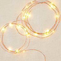 Brooklyn Lighting Company String Lights, Rose Gold