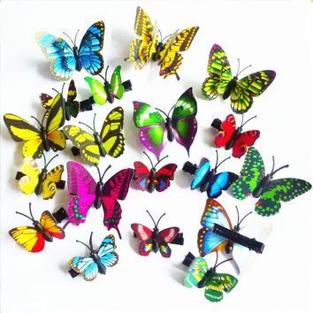 10 pcs popular hairpins butterfly clips for girl hair clip Boutique girls Hair Accessories Headwear FOR KIDS!!  HR20170616-2