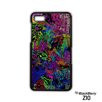 trippy alice in wonderland for Blackberry Z10/Q10 phonecases