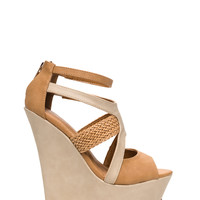 Strappy Days Woven Strap Wedges