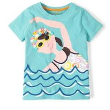 Summer Fun Girl T-shirt
