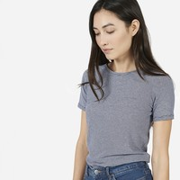 Everlane | The Micro-Stripe Crew