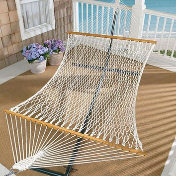 Oversized Cotton Rope Hammock