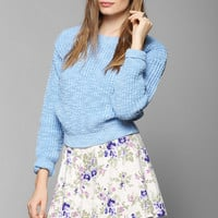 Glamorous Marled Cropped Sweater - Urban Outfitters