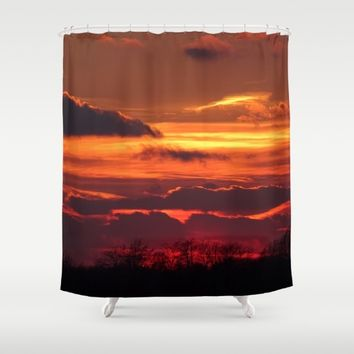 All the Natural Beauty Shower Curtain by Theresa Campbell D'August Art