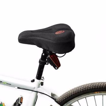 Universal 3D Gel Pad Soft Thick Bike Bicycle Saddle Cover Cycling Cycle Seat Cushion Bike Riding Seat Sitting Protecter