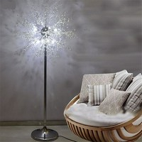 Modern White Dandelion Floor K9 Crystal Floor Lamp Lighting