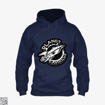 Planet Express Black And White, The Simpsons Hoodie