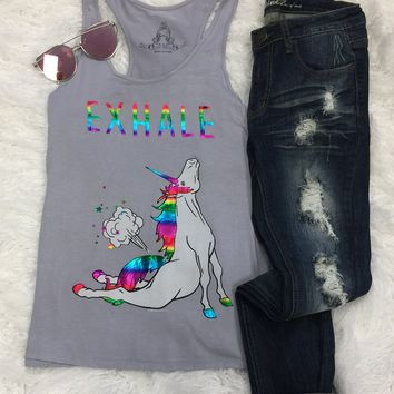 Exhale Unicorn Tank