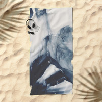 Lonely Life Beach Towel by duckyb