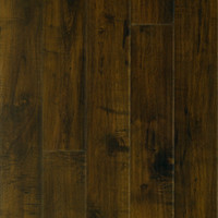 Shop Pergo MAX Premier 6.14-in W x 4.52-ft L Chateau Maple Handscraped Laminate Wood Planks at Lowes.com