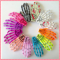 Online Shop (#JH003) 2015 Design skeleton claws skull hand hair clip hairpin Punk hairwear hairpins the pins for women bobby pin|Aliexpress Mobile