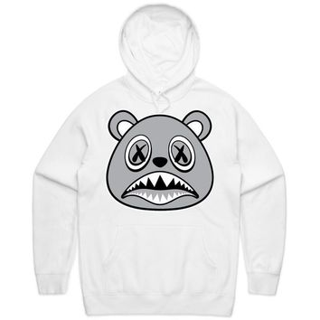Shadow Baws White Hoodie
