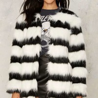 De Vil Faux Fur Coat