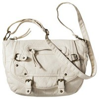 MOSSIMO SUPPLY CO. White Pebble Crossbody Bag