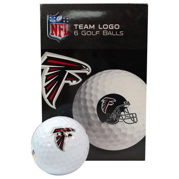 NFL Atlanta Falcons Golf Ball  Pack of 6