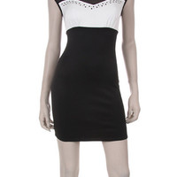 Mini Bodycon  Dress - Black