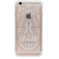 White Floral Lace iPhone 6 and 6s Case