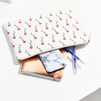 Floral Printed Pouch | Urban Outfitters