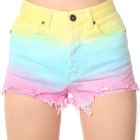 UNIF Shorts Guess What in Cotton Candy