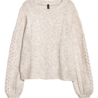 H&M Cable-knit Sweater $34.99