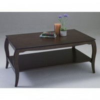 OSP Designs Brighton Coffee Table in Cherry - BN12 - Accent Tables - Decor