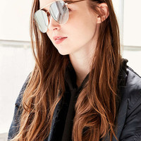 Quay Lickety Split Aviator Sunglasses - Urban Outfitters