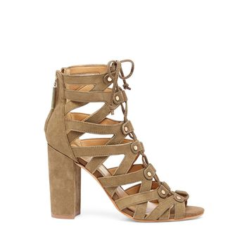Dolce Vita Karli Lace-Up Heeled Sandal